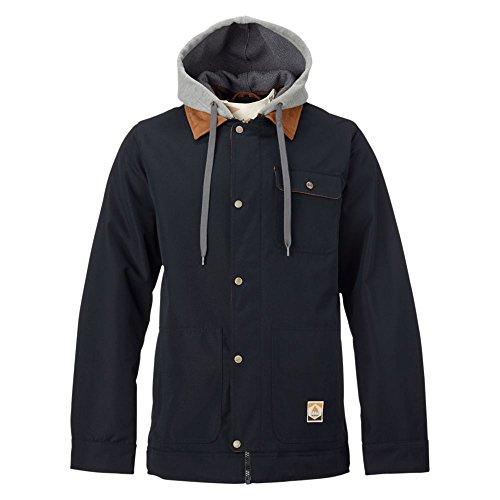 Burton Herren Jacke Dunmore, Herren, True Black Oxford, Small