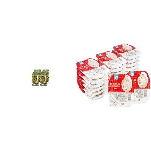 味の素 Cook Do 青椒肉絲用 58g×10個 + Happy Belly パックご飯 新潟県産こしひかり 200g×20個(白米) 特別栽培米