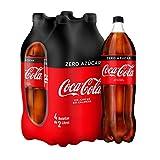 Coca Cola Zero Refresco - Paquete de 4 x 2 L - Total: 8 L