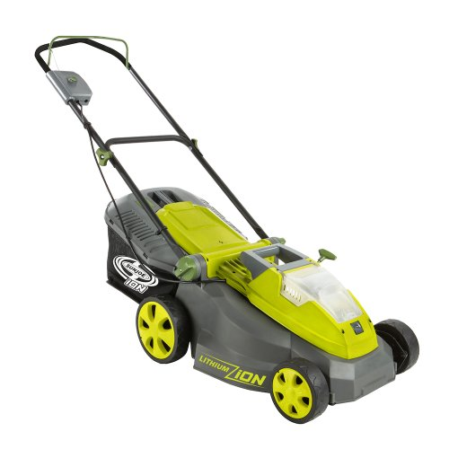 Sun Joe ION16LMCT iON16LM-CT 40-Volt 4.0-Amp 16-Inch Brushless Cordless Lawn Mower, Tool Only