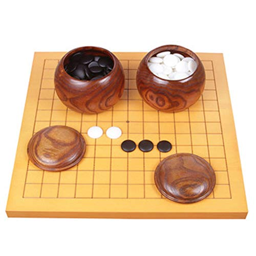 Brettspiel, Weiqi 9/13 Straße Puzzlespiel Puffen Intelligenz Entwickeln Hand-Auge-Koordination 4 Arten Von Schachfiguren Kinder Anfänger XXIOJUN (Color : B, Size : 31.5x32cm)