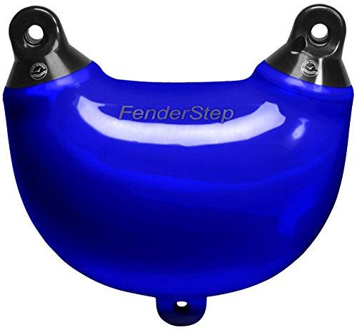 DAN FENDER Fenderstep - Fender & Einstiegshilfe, Farbe:Blau