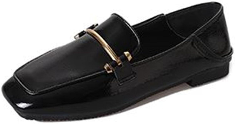 BeautyOriginal Women's shoes Artificial PU Spring Summer Comfort Shallow Mouth Ladies Flat shoes
