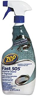 Fast 505 Cleaner & Degreaser, Lemon Scent, 32 oz Spray Bottle, Sold as 1 Each by Zep Commercial