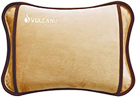TM Electron VULCANO - Borsa dell'acqua termica ricaricabile in 15 minuti per 2 ore di utilizzo, con rivestimento morbido...