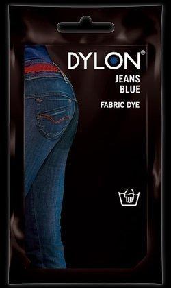 2 x Dylon Blu Jeans 50g Colorato Lavaggio A Mano Tessuto Vestiti Tinta