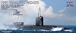 Image: Hobby Boss USS Greeneville SSN-772 Boat Model Building Kit