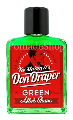Don Draper Green Aftershave Bild