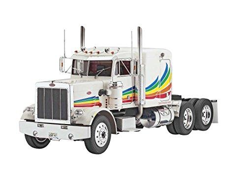 Revell Modellbausatz LKW 1:16 - Peterbilt 359 Conventional im Maßstab 1:16, Level 5, originalgetreue Nachbildung mit vielen Details, Lastwagen, Truck, 07455