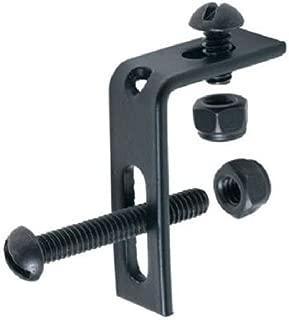 GILPIN IRONWORKS 438 4 Pack Black Railing Fitting