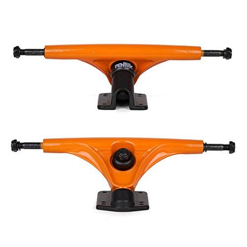 Rellik Longboard Ejes 2 Unidades Black Naranja 180 mm, 50 °