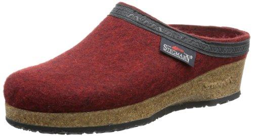 Stegmann Damen 109 Pantoffeln, Rot (Firebrick 8817), 42