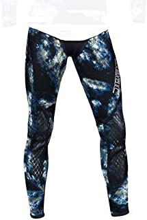 blue camouflage wetsuit