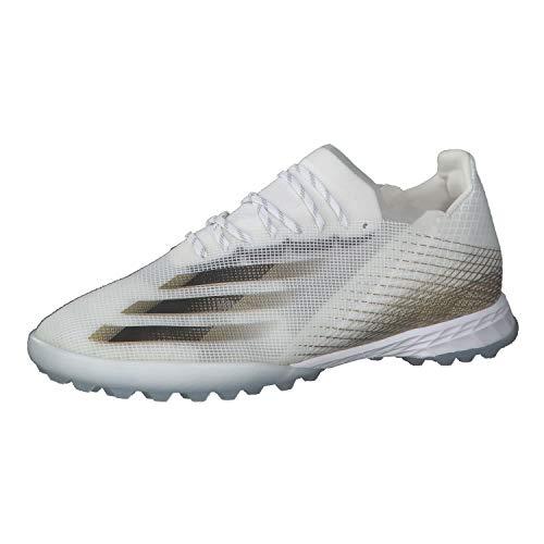 adidas X GHOSTED.1 TF, Zapatillas de fútbol para Hombre, FTWBLA/NEGBÁS/OROMEZ