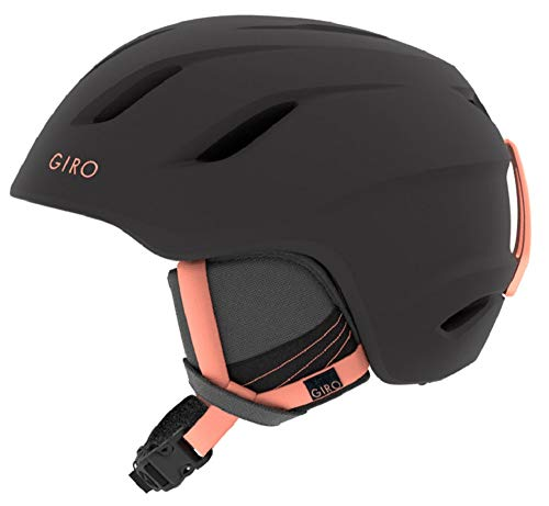 GIRO(ジロ) スキー レディース ヘルメット Era(エラ) アジアンフィット マットブラック ピーチ Mサイズ 709...