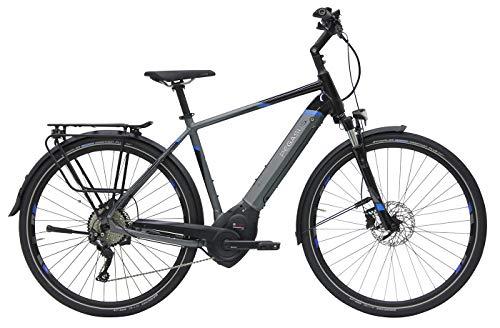 Herren E-Bike 28 Zoll - Pegasus Premio Evo 10 - Bosch Performance Line CX Mittelmotor, Akku 500Wh, Shimano Schaltung, schwarz/grau