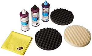 3m perfect it buffing polishing kit pad compound foam 39062 39061 39062 5723 don 39 t miss. Black Bedroom Furniture Sets. Home Design Ideas