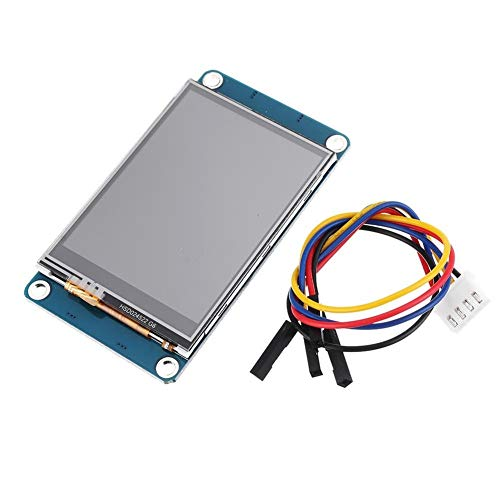 PIKA PIKA QIO Monitore, 2,2 Zoll / 2,4 Zoll RGB USART HMI serieller Touchscreen Smart Character GPU TFT LCD-Anzeigemodul 240 * 320-2,2 Zoll Zubehör (Größe : 2.2 Inch)