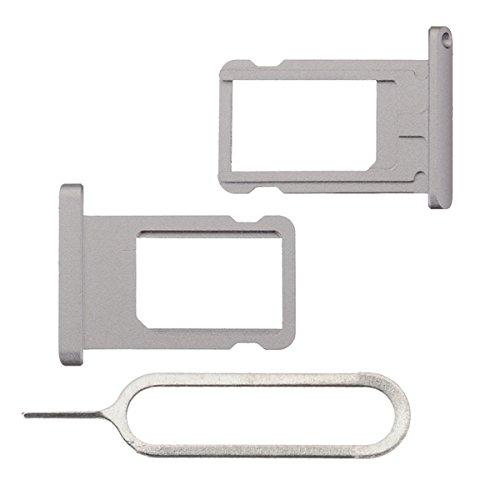 BisLinks® Für iPad Air 2 Metal SIM Karte Tablett Halter Slot Grau + Ejector Pin 6th Gen