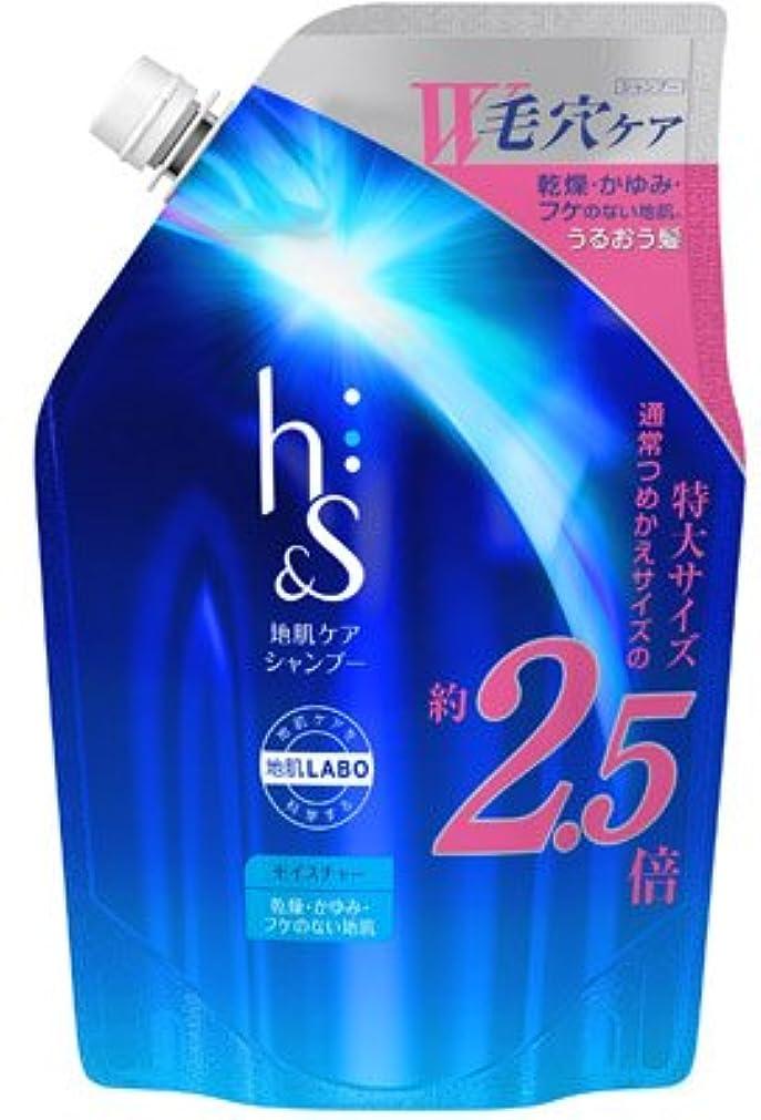 振り返る味付け郡h&s モイスチャーシャンプーつめかえ超特大サイズ × 5個セット