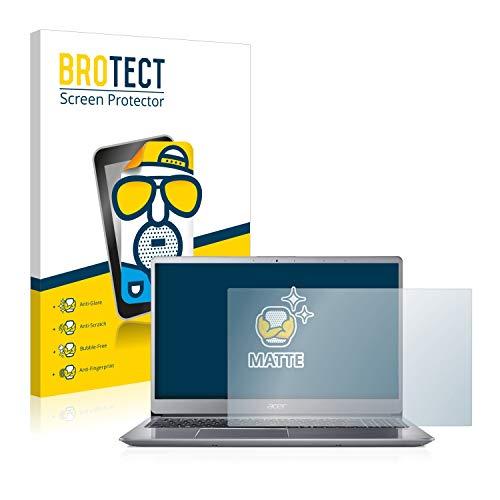 BROTECT Matt Bildschirmschutz Schutzfolie für Acer Swift 3 SF315-52 (matt - entspiegelt, Kratzfest, schmutzabweisend)