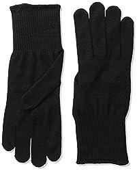 Black Stretch Gloves