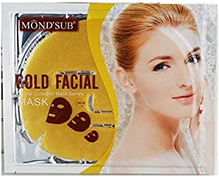 Mond'sub Gold Facial Crystal Collagen Mask Sheet (Pack of 1 x 60g)