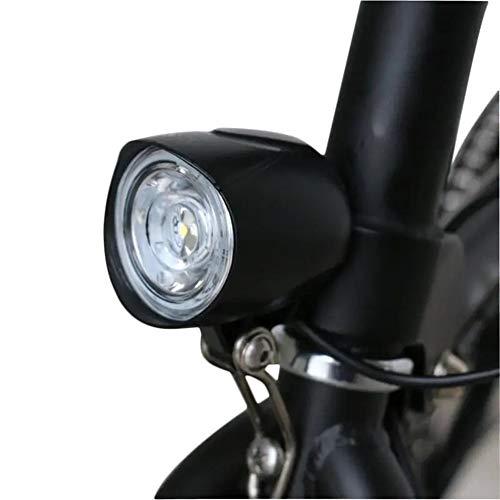 N\A Moto Juego de Luces, 400LM Delantera de la Bici luz incorporada 80dB Cuerno de la Motocicleta Scooter eléctrico E-Bici 36-48V Ancha Resalte Voltaje Universal