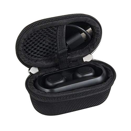 Hermitshell Hard Travel Case for SoundPEATS/Dudios True Wireless Bluetooth Earbuds in-Ear Stereo Bluetooth Headphones Wireless Earphones