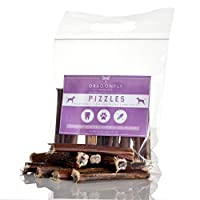 ✔ GRADED BY WEIGHT - each pizzle weighs 10-20g and is best suited for small-medium breed dogs