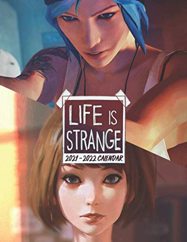 Life is Strange: 2021 – 2022 Games Calendar – 18 months – 8.5 x 11 Inch High Quality Images
