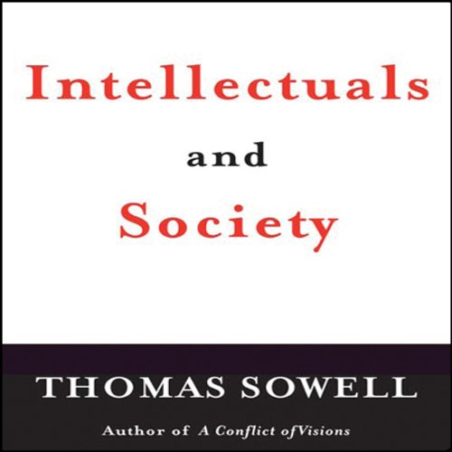 Page de couverture de Intellectuals and Society