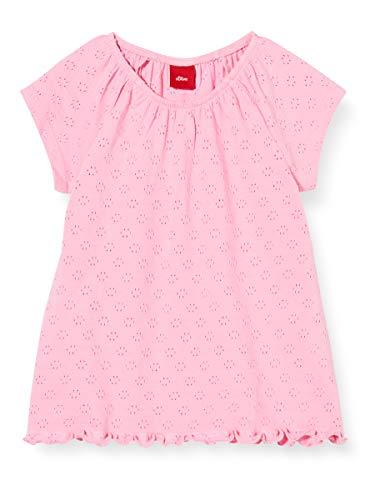 s.Oliver Junior Baby-Mädchen 405.10.004.12.130.2037964 T-Shirt, 4404 pink, 86