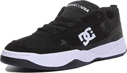 DC Shoes Penza, Scarpe da Skateboard Uomo, Nero (Black/White BKW), 44 EU