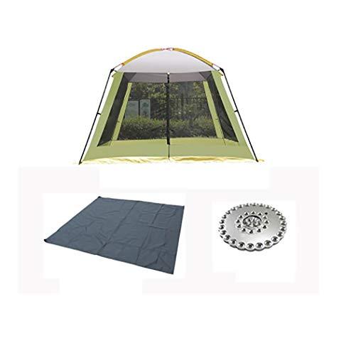 SMSJ-YJ Außen Shade Freizeit Konto Himmel Vorhang Markise Camping Regenschutz Sonnenschutz Barbecue Strand Angeln Wilde Faltzelt (Color : B1)