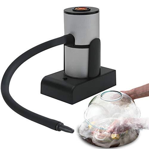 Rökpistol, Handhållen BBQ Kallmatrökare med flis, för matlagning BBQ, Mat Cocktails Drycker, Biff, Laxrök