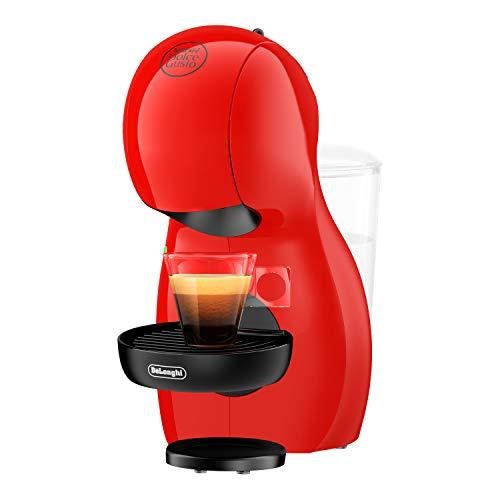 De'Longhi Dolce Gusto Piccolo XS EDG210.R - Cafetera de cápsulas, 15 bares de presión, diseño compacto, color rojo