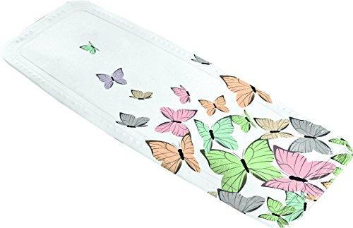 Kleine Wolke Butterflies Wanneneinlage PVC Schaum Multicolor 36 x 92 x 3 cm