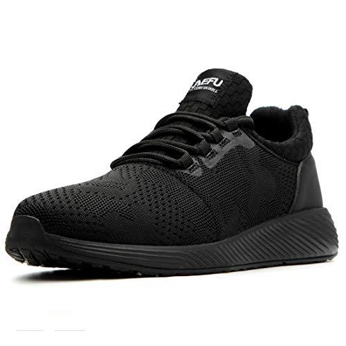 Zapatillas de Seguridad Hombres Hembra, Zapatos de Trabajo c