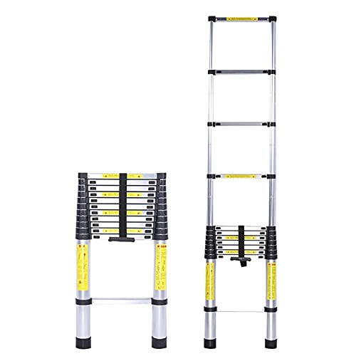 EraTenager Heavy Duty Telescopic Ladder 8m/ 7m/ 6.2m/ 5m/ 4m/ 3.8m/ 2.6m...