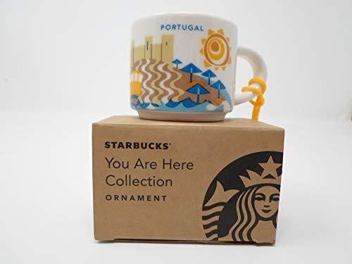 Starbucks Portugal You Are Here YAH Espresso Shot Coffee Ornament Mug