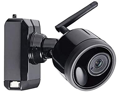 Lorex 1080p Indoor/Outdoor Home Surveillance Security Camera, HD Wire-Free Bullet Camera w/Long Range Night Vision and Passive Infrared Motion Detection