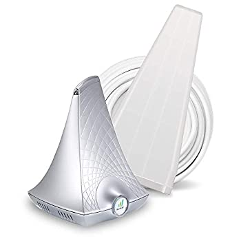 SureCall Flare 3.0 Cell Phone Signal Booster for Home Yagi Antenna Configuration | Integrated indoor antenna for easier install | Covers up to 3000 sq ft | Boosts Voice data for 4G LTE 3G