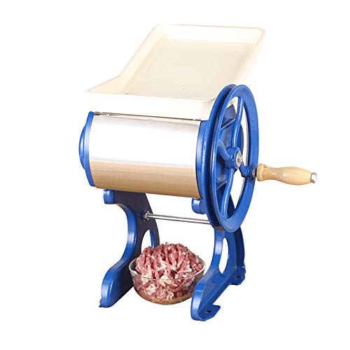 It Is Best To Use Shredded Meat Slices And Meat Grinders, Hand-cranked Meat Grinders, Stainless Steel Blades (3mm, 3.5mm Optional) (Size : 3mm)