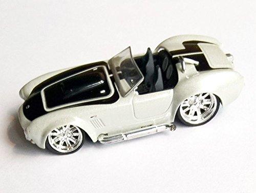 HOT WHEELS® Shelby Cobra 427 S/C - Roadster Oldtimer 1966 - 1:35 - grau-metallic/schwarz