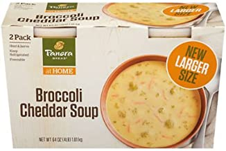 Panera Bread Broccoli Cheddar Soup 32 oz. tubs, 2 pk. (pack of 4) A1
