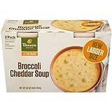 Panera Bread Broccoli Cheddar Soup 32 oz. tubs, 2 pk. A1