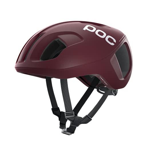 POC Ventral SPIN - Casco Ciclismo, L (56-61cm), Rojo (Propylene Red Matt)