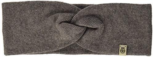 Roeckl Damen Essentials Basic Stirnband Mütze, Schal & Handschuh-Set, Beige (Mink 118), One Size