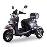 NO ONE 72V 800W EL 3Wheel Three-Wheel Electric Trike Scooter Motorcycle for Adult with Conversion Kit